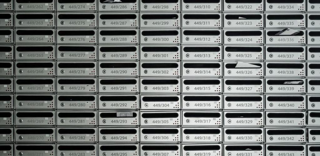 caixas de correspondência para condomínios carta-colmeia