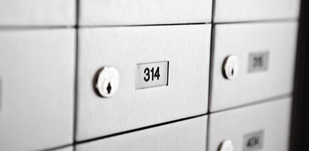 caixas de correspondência para condomínios em alumínio