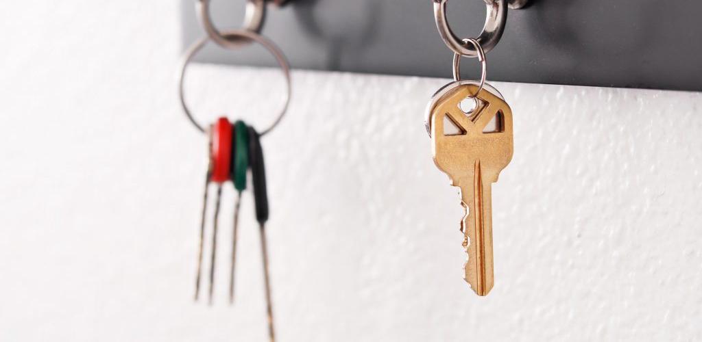 chaves do condomínio na portaria